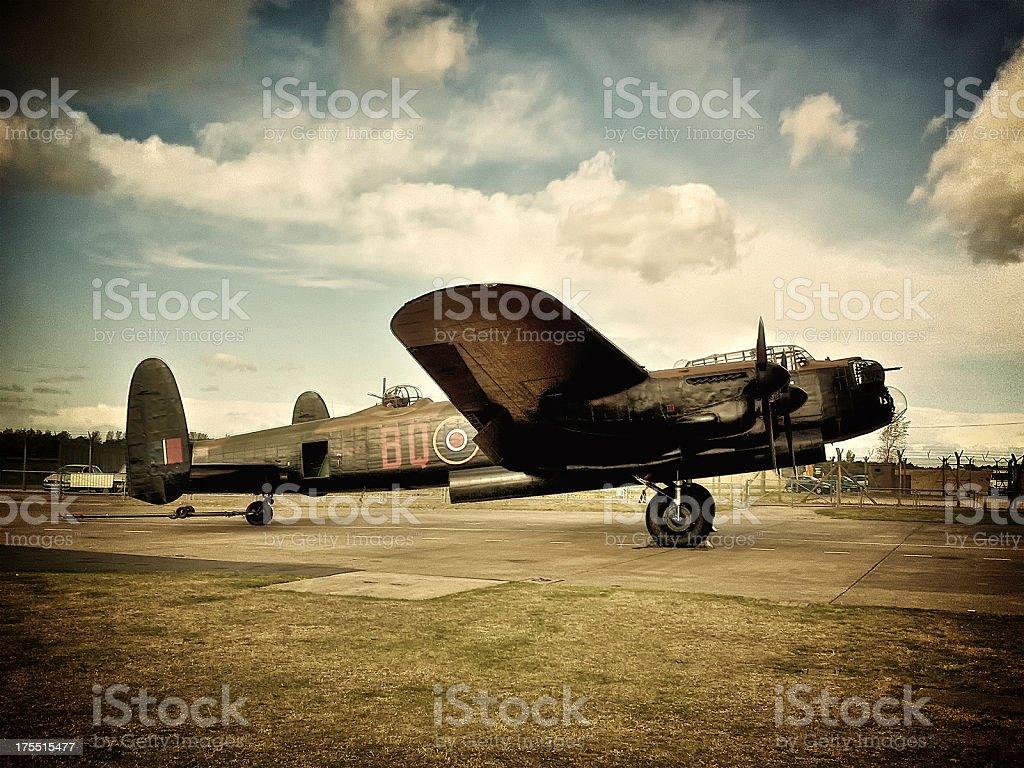 II Guerra mondiale Bombardiere Lancaster, la Battaglia di Inghilterra, Dambusters (cellulare) - foto stock