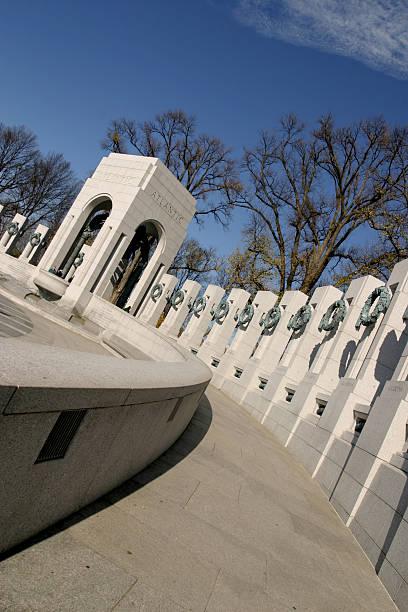 World War II Memorial 1 stock photo