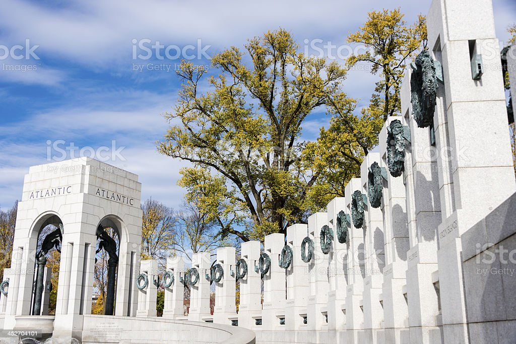 World War II Memorial in Washington DC -XXXL stock photo