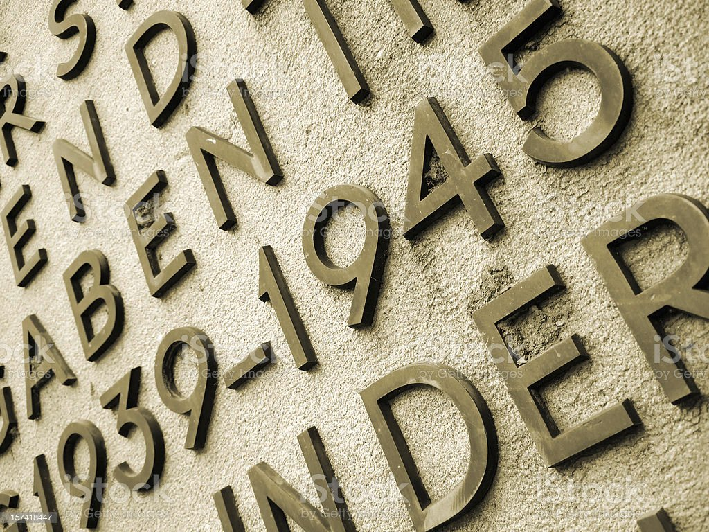 world war II memorial royalty-free stock photo
