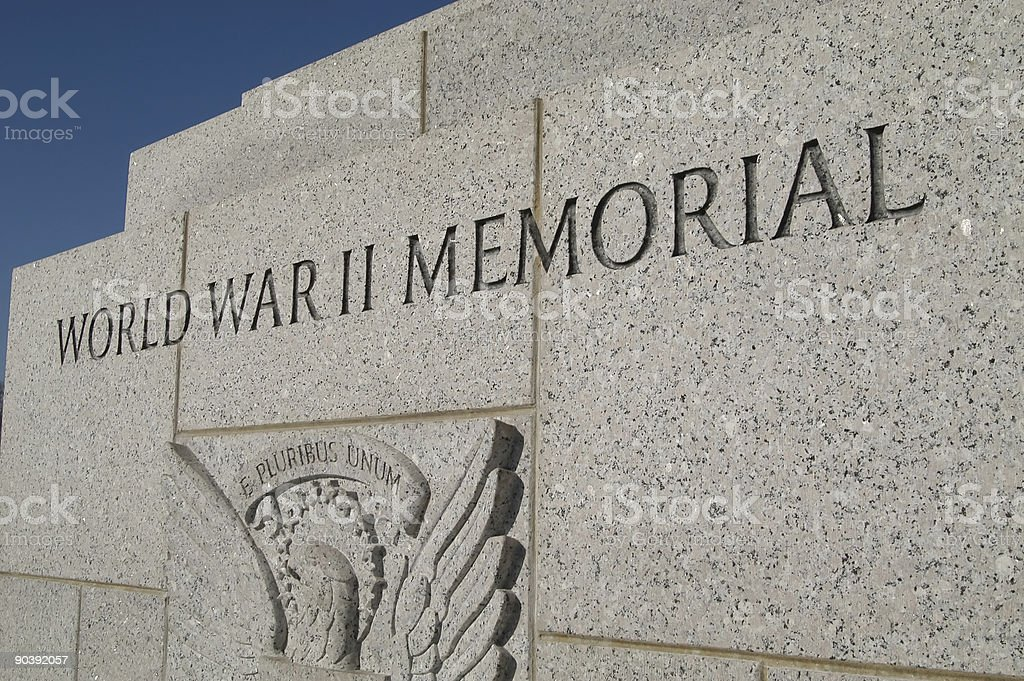 World War II Memorial royalty-free stock photo