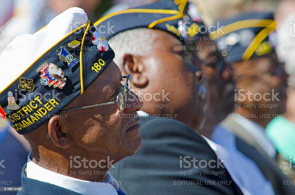 World War II Veterans stock photo