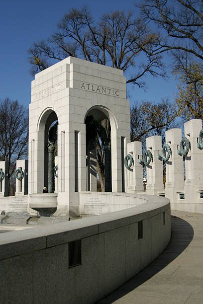 World War Memorial II 3 stock photo