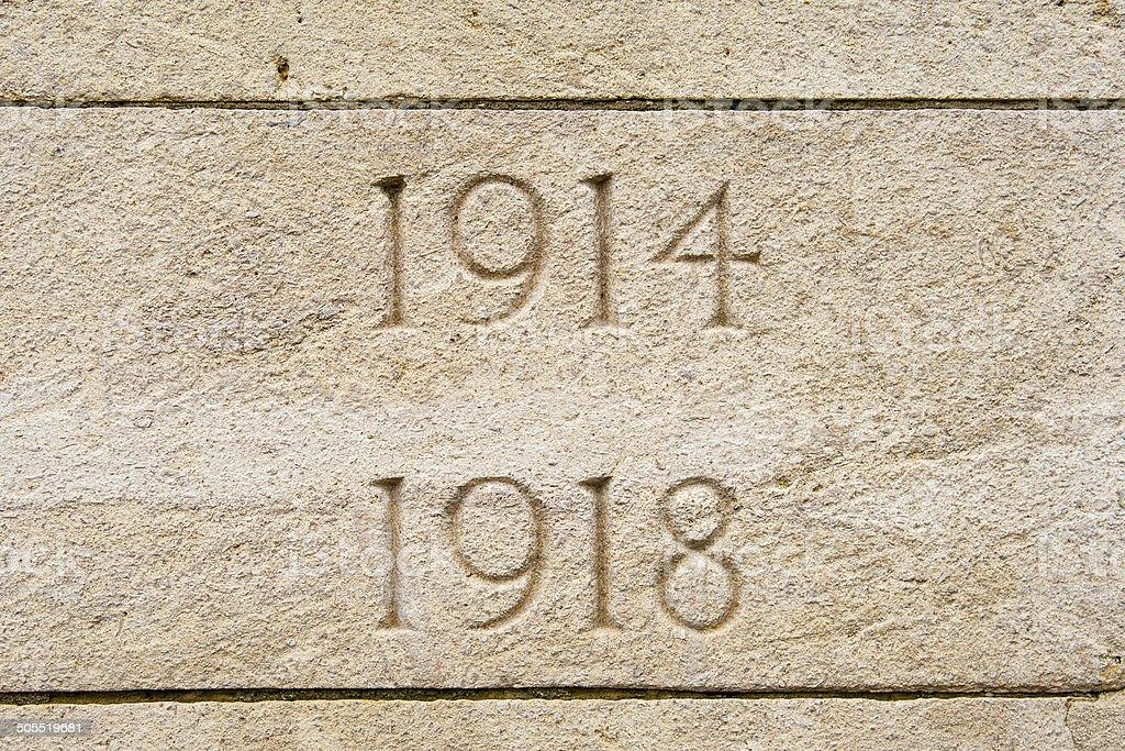 World war on 1914 1918 cemetery in flanders Belgium stock photo