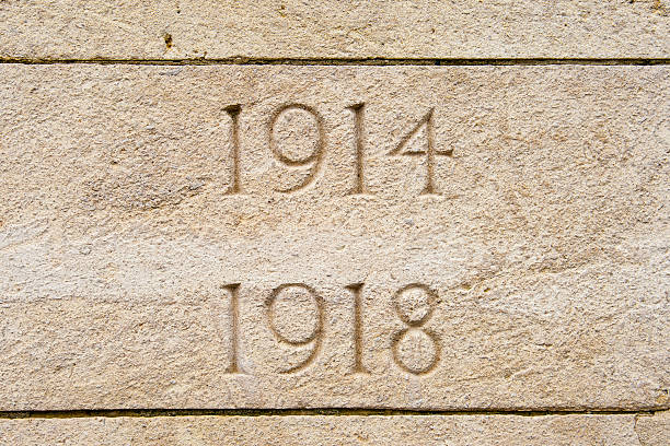 World war on 1914 1918 cemetery in flanders Belgium stock photo