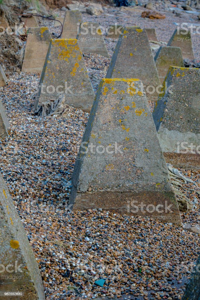 World War Two coastal defences on the Isle of grain - Royalty-free Army Stock Photo
