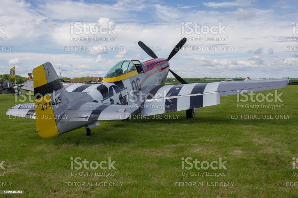 World war two vechter P - 51D Mustang Damn Yankee foto