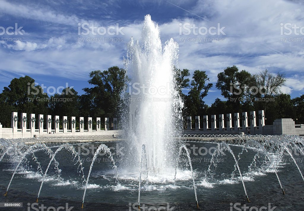 World War Two Memorial, Washington, DC stock photo