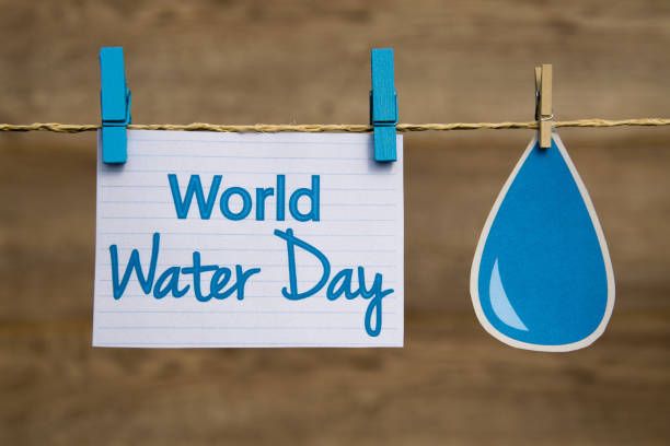 World Water Day stock photo