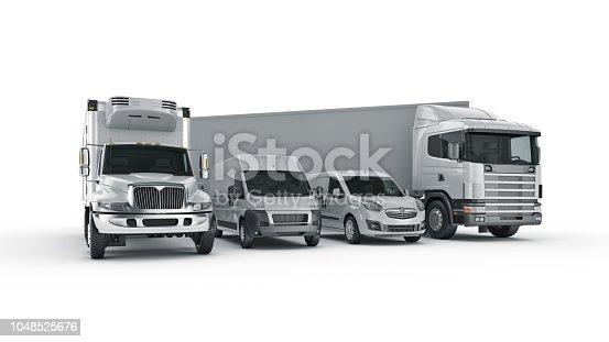 istock world wide cargo transport concept. 3d rendering 1048525676