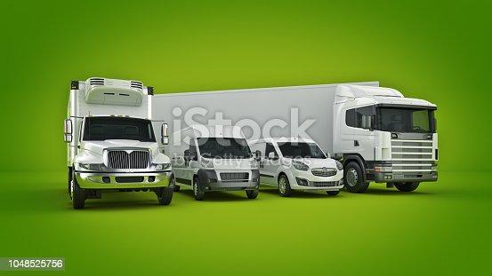 istock world wide cargo transport concept. 3d rendering 1048525756