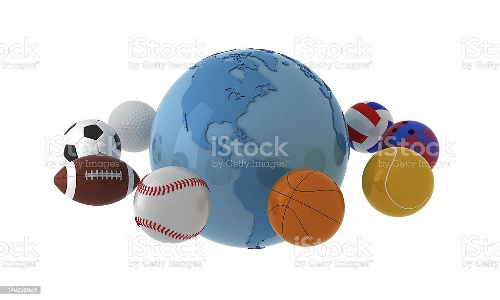 World wide sport. stock photo