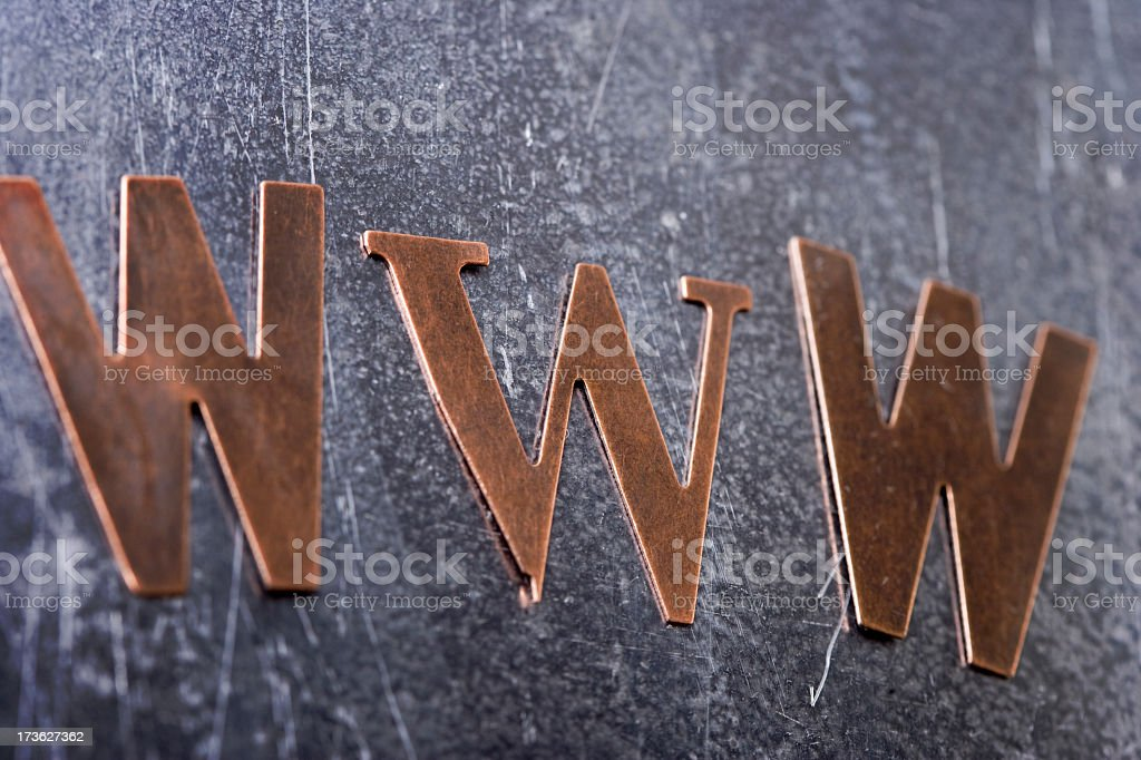 World Wide Web royalty-free stock photo