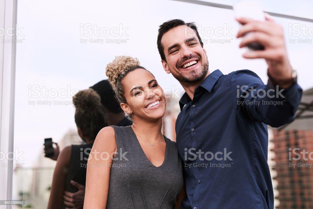 World, you'll soon get to see our success! stock photo