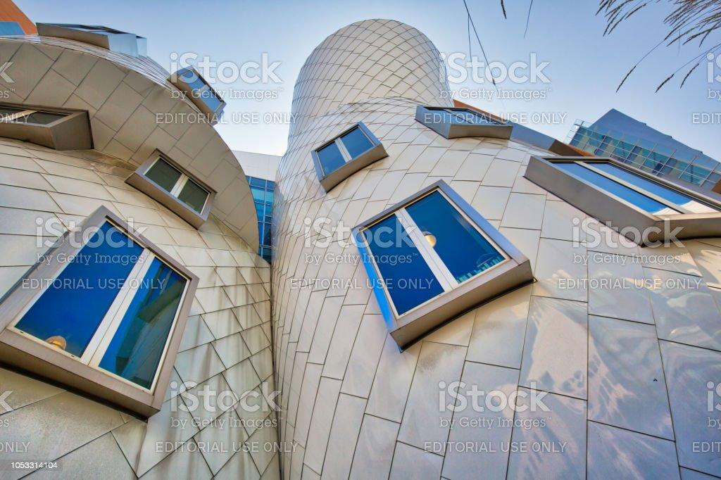 Mundialmente famoso Instituto MIT de tecnología - foto de stock