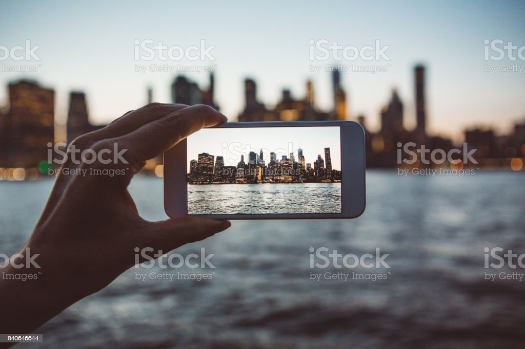 A world-famous view stock photo