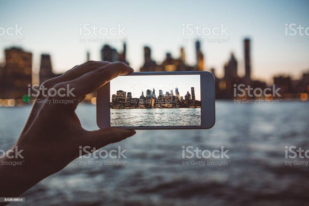 Eine weltberühmte Ansicht – Foto