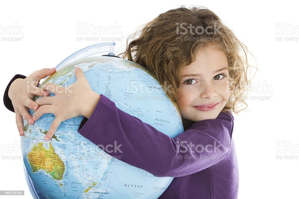 World's big hug stock photo