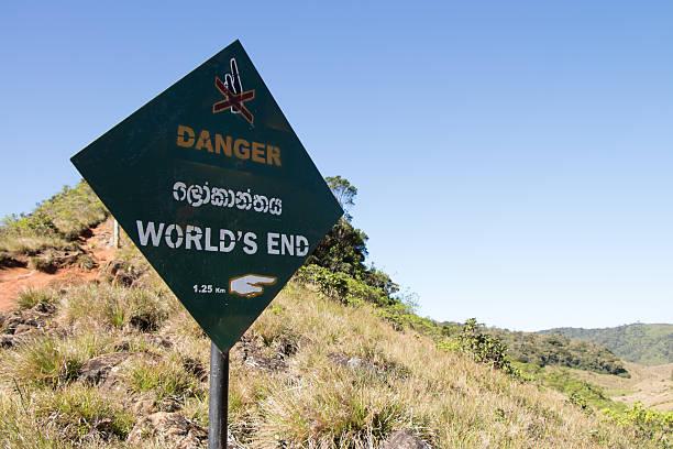 World's End Sign – Foto