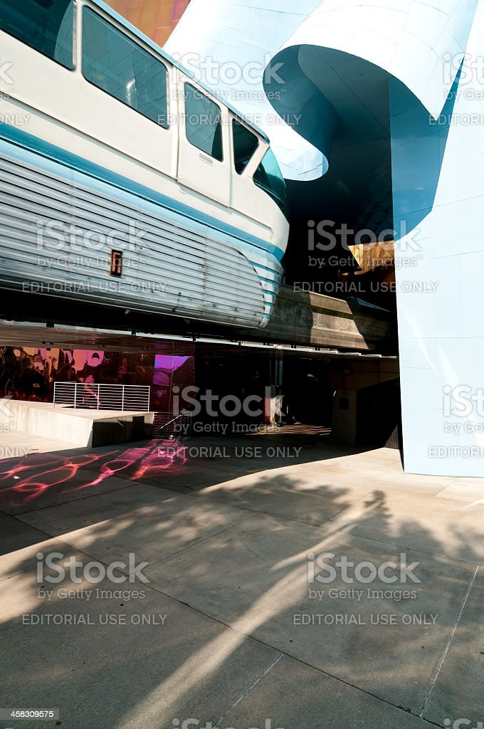 Worlds Fair Monorail royalty-free stock photo