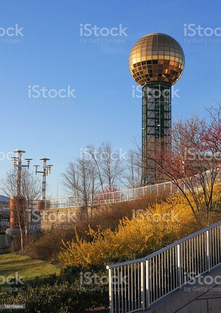 World's Fair Park stock photo