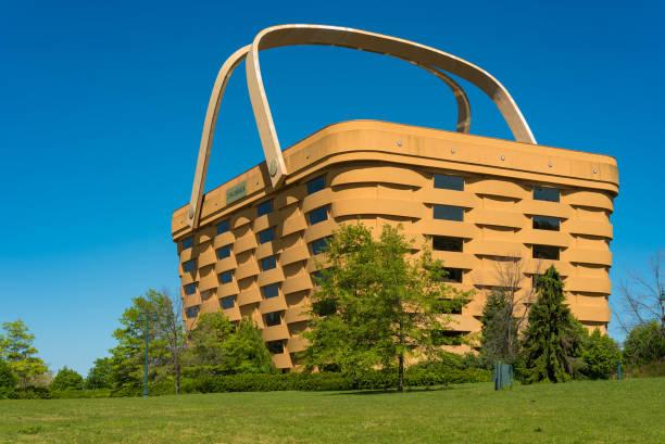 World's largest basket stock photo