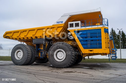 istock World's Largest Huge Truck BelAZ 515071980