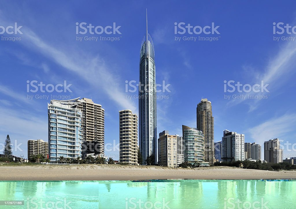 worlds largest residential building royalty-free stock photo