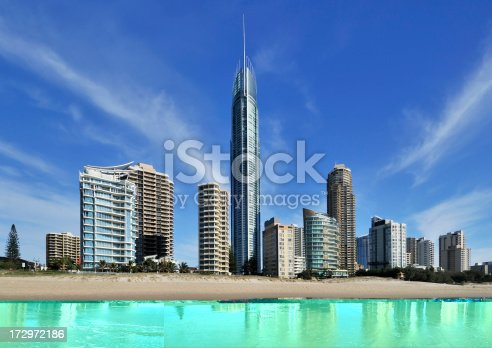 Surfer's Paradise q1 is the worlds largest residential tower situated on the gold coast, Queensland, Australia