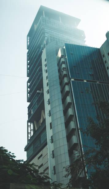weltweit teuersten privaten gebäude in mumbai, indien - größte städte der welt stock-fotos und bilder