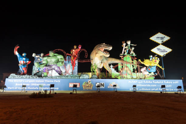 IMG Worlds of Adventure park in Dubai – Foto