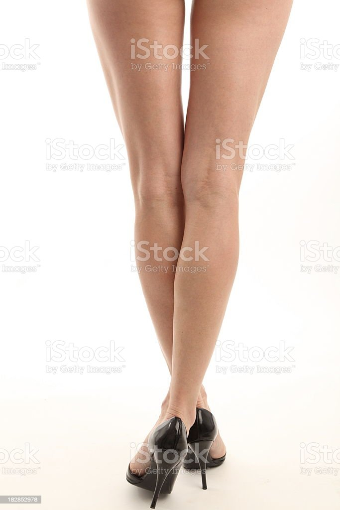 worlds sexiest female legs stock photo