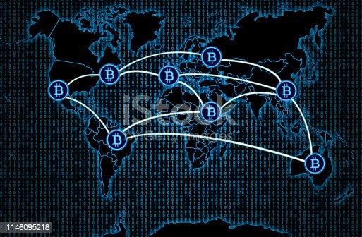 istock Worldwide Bitcoin network 1146095218