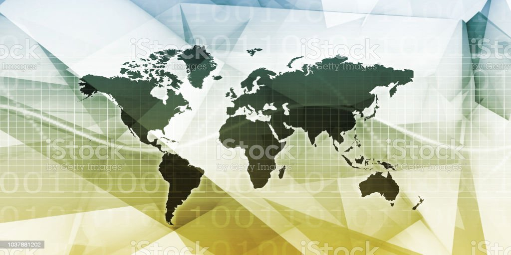 Worldwide Marketing Platform stock photo