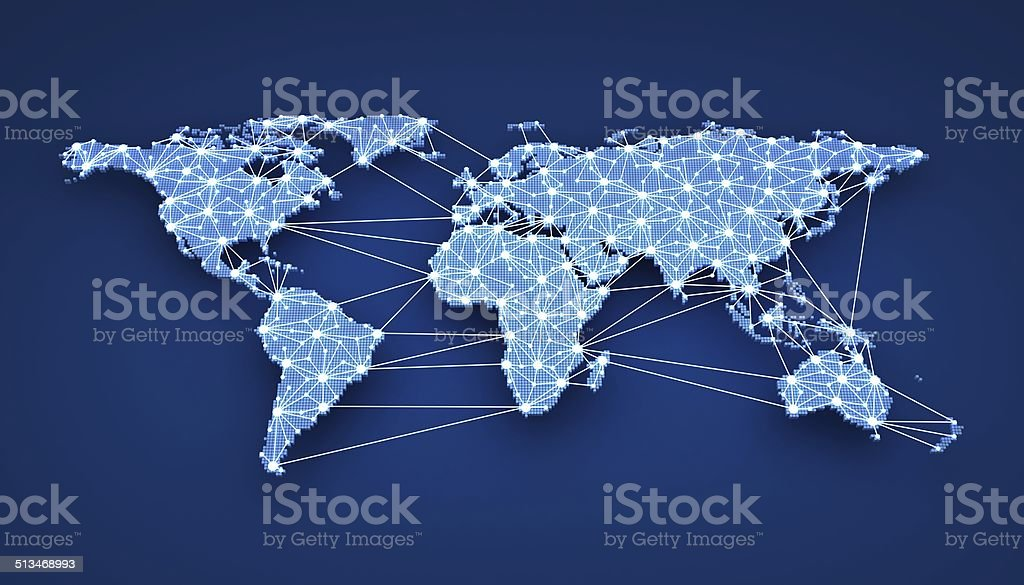 World-wide web stock photo