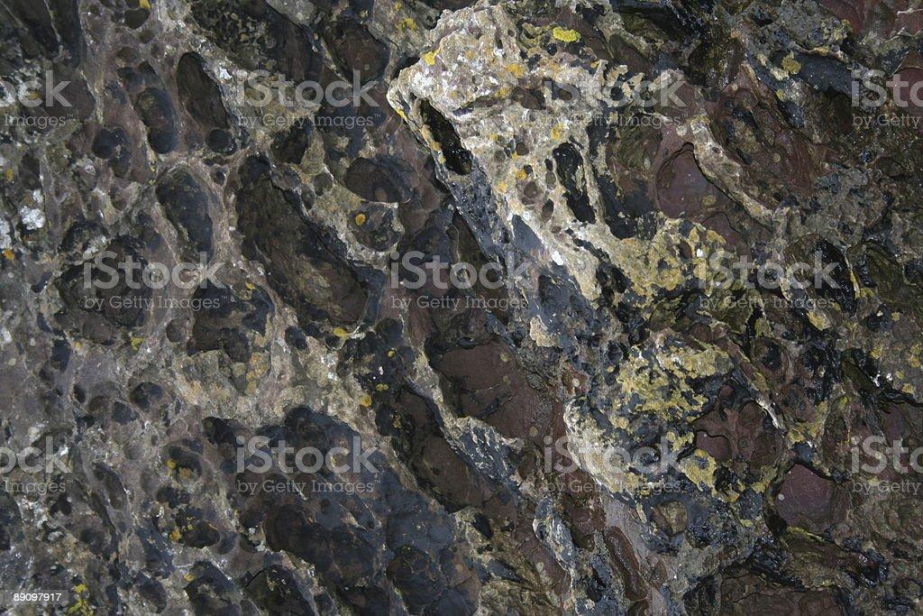 Worn away rock royalty-free stock photo