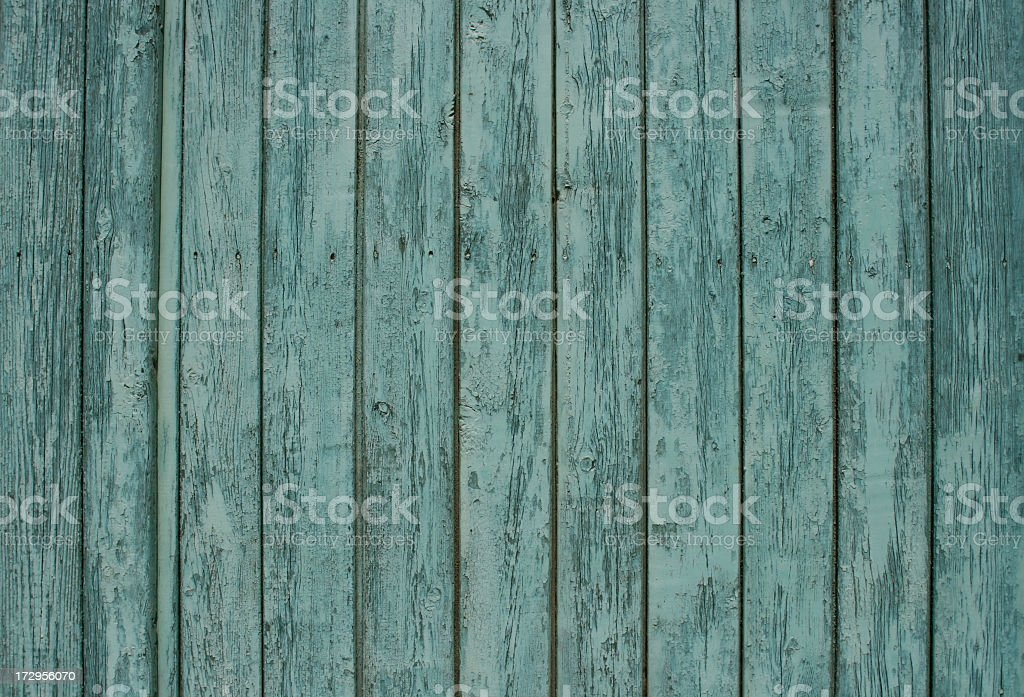 Worn blue wooden textured surface royalty-free stock photo