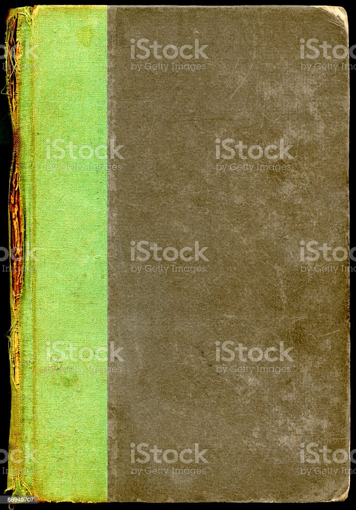 Worn Book Cover royalty-free stock photo