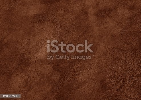 Worn brown marble or cracked concrete background (as an abstract brown vintage background)