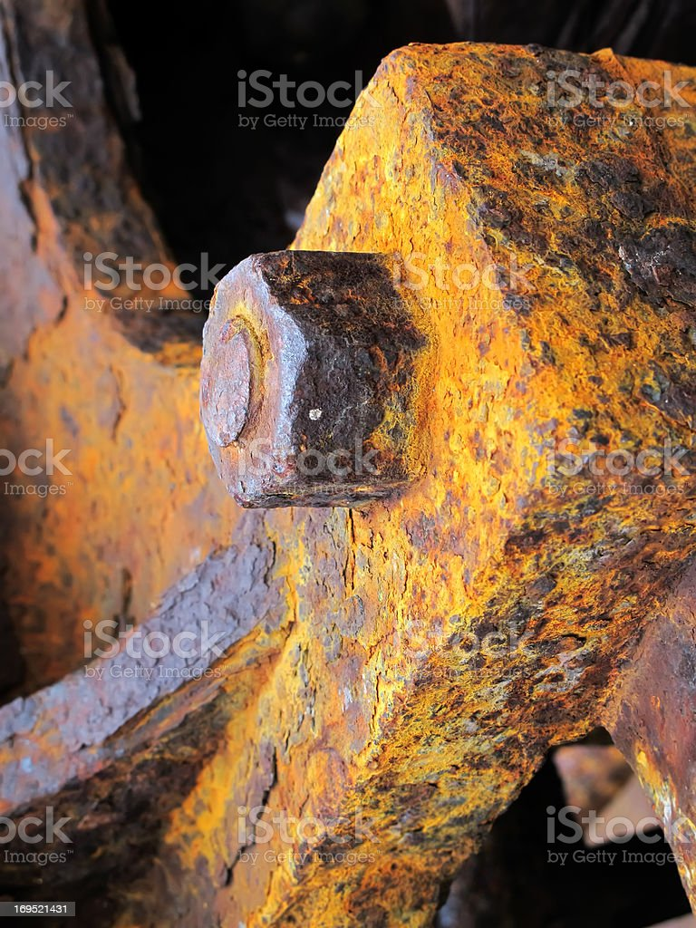 Worn by time stock photo