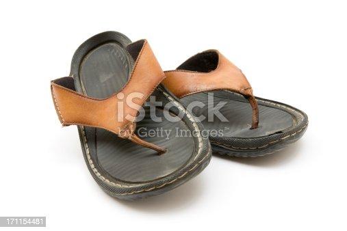 959792752 istock photo Worn Flip Flops 171154481