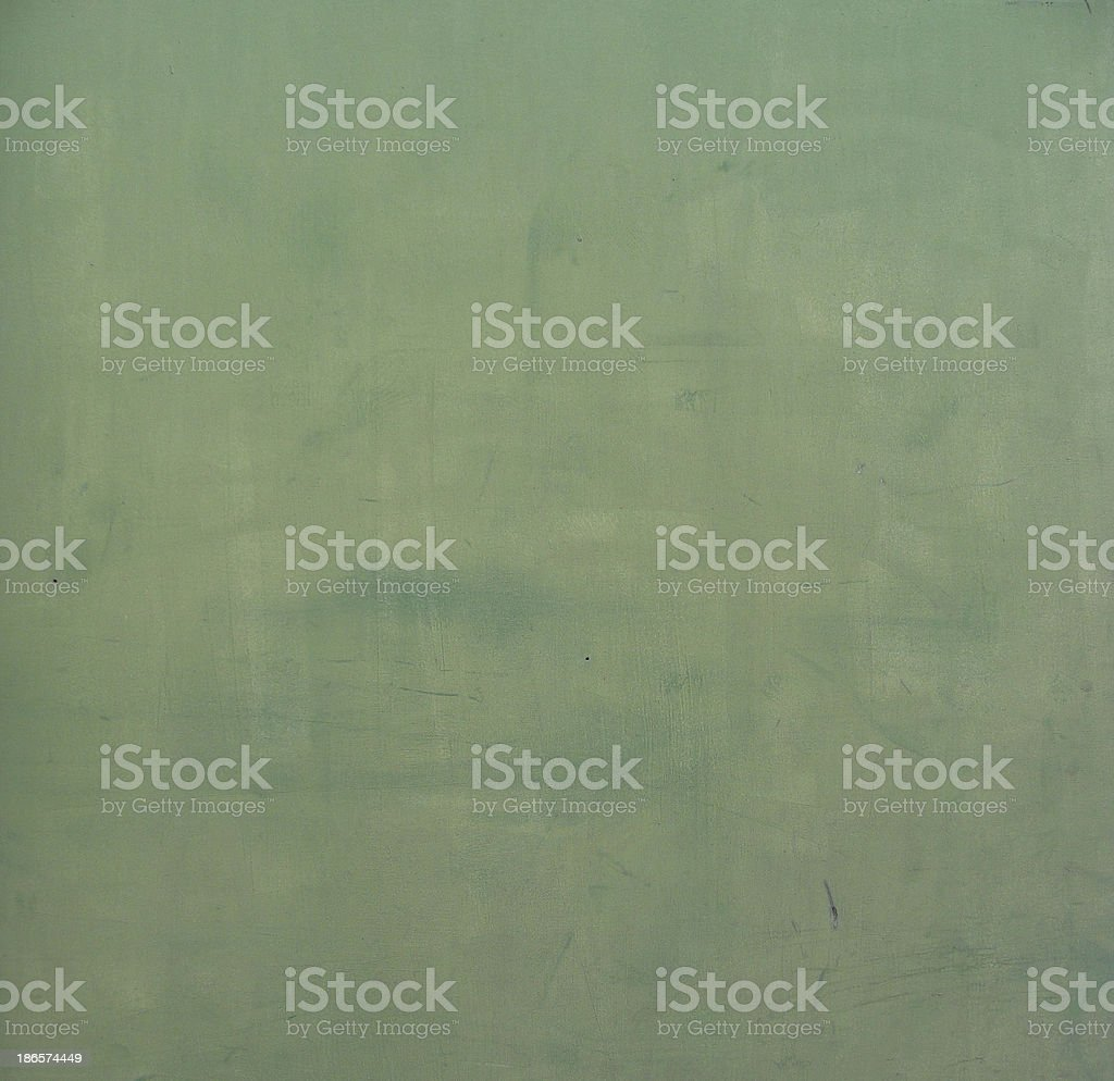 worn grunge green paint on wooden panel royalty-free stock photo