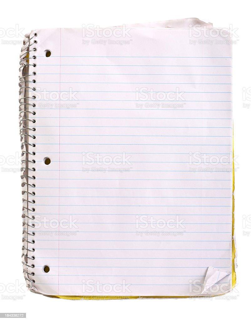Worn Notebook royalty-free stock photo