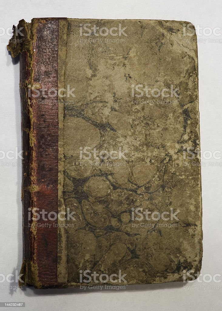 Worn old book royalty-free stock photo