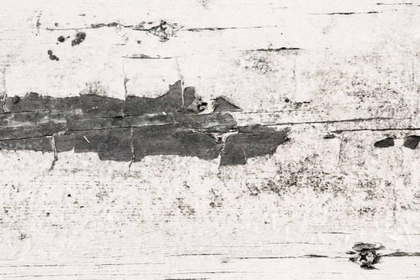 worn painted wood stock photo