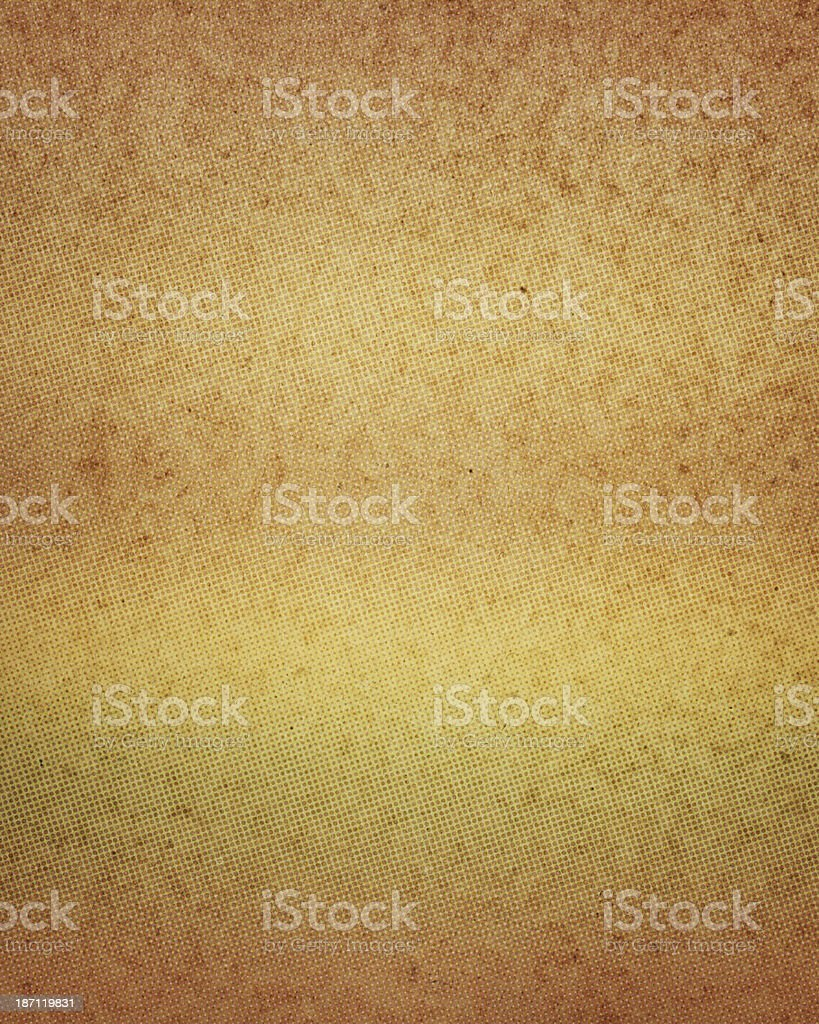 worn paper with halftone color gradient royalty-free stock photo