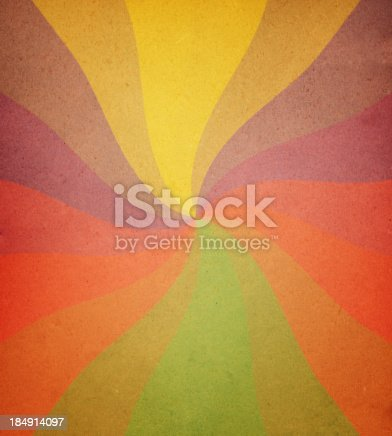 istock worn paper with spiral ray pattern 184914097
