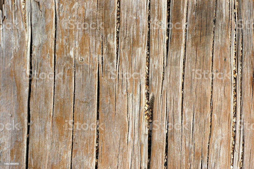 Worn Wood Background royalty-free stock photo