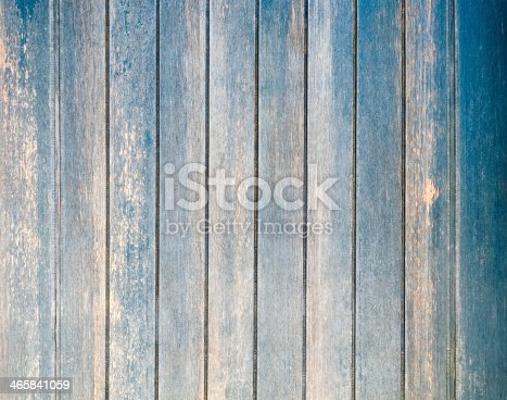 471504772 istock photo Worn wooden planks with blue tint 465841059