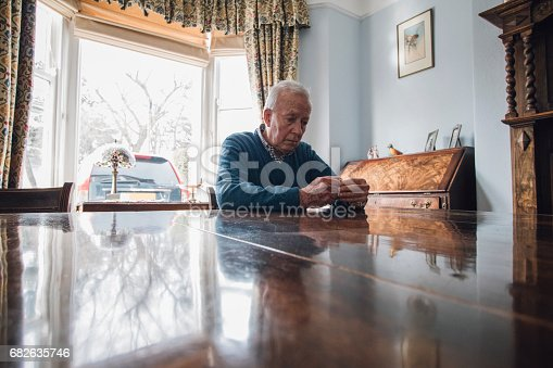 istock Worried Old Man 682635746